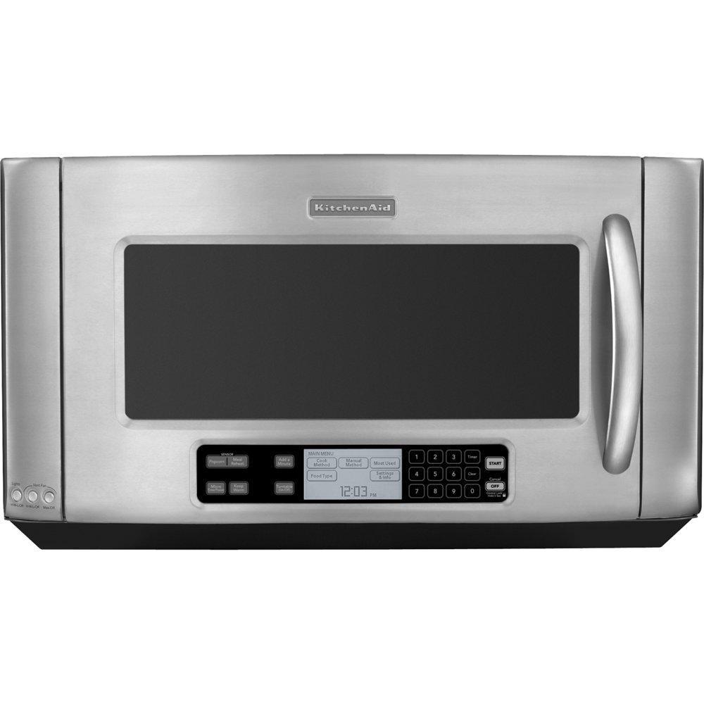 KitchenAid 1200 Watt Architectu0026#174; Series II Microhood KHMS2050SSS