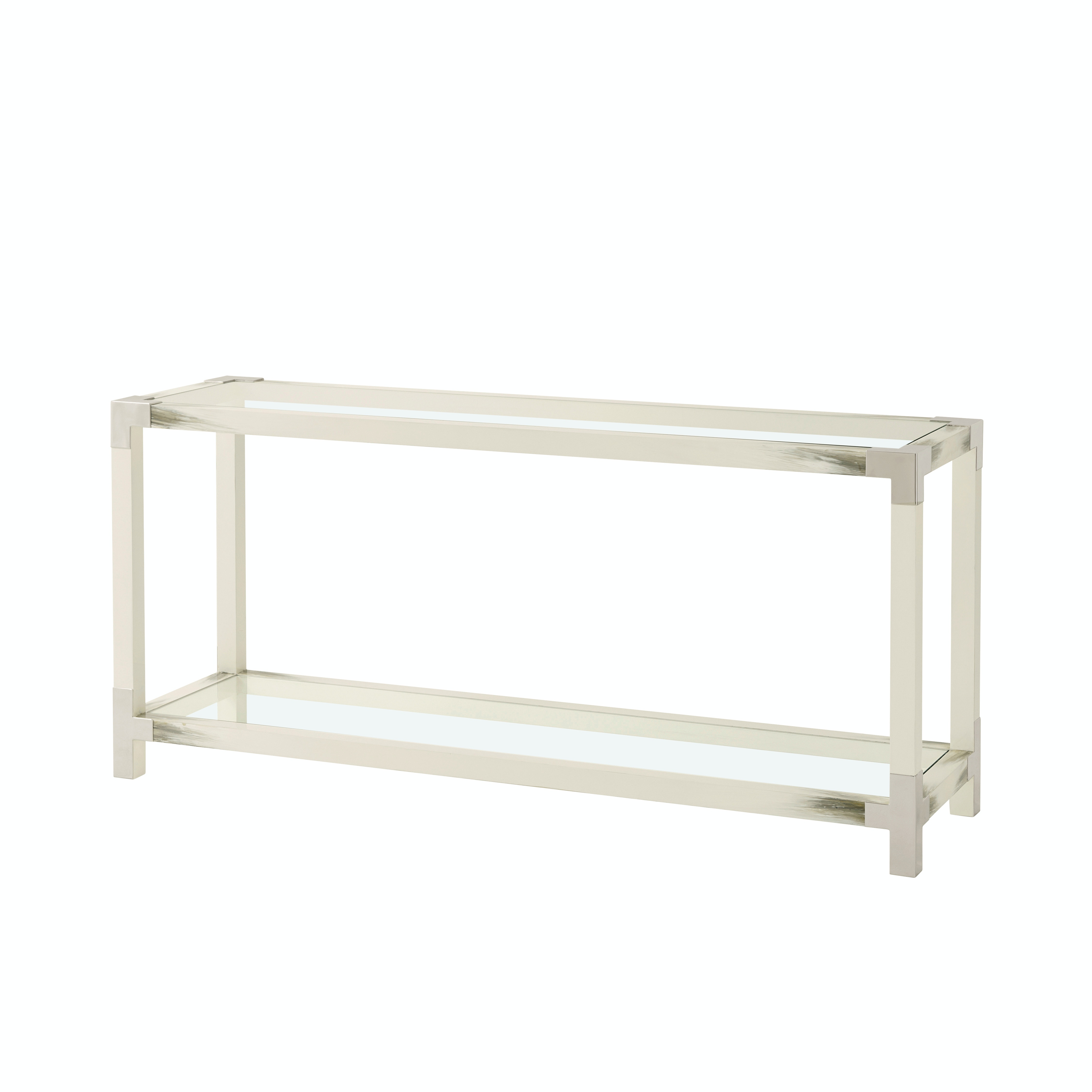 Theodore Alexander Cutting Edge Console (Longhorn White) 5302 117