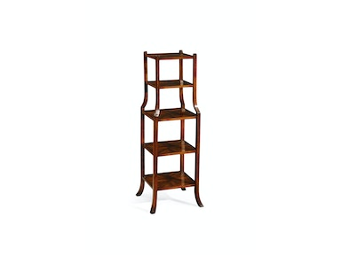Jonathan Charles Parquet Five-Tier Etagere (Walnut) 492060