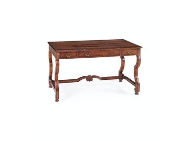 Jonathan Charles Country Style Walnut Extending Desk (Large) 492236
