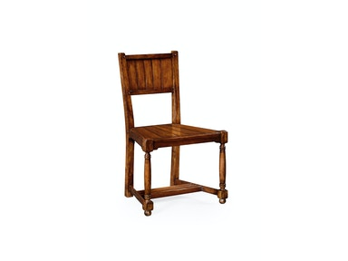 Jonathan Charles Planked Walnut Chair (Side) 492312
