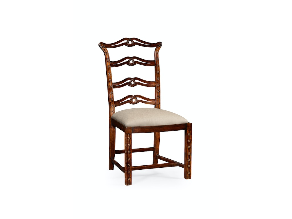 Charles Dining Room Chippendale Style Mahogany Pierced Back Dining ...