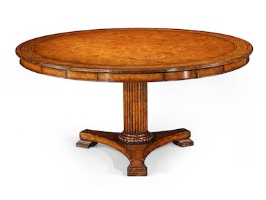 "Jonathan Charles 62"" Rope Twist Round Dining Table"