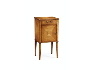 Jonathan Charles Pair Of Satinwood Bedside Cabinets 492975