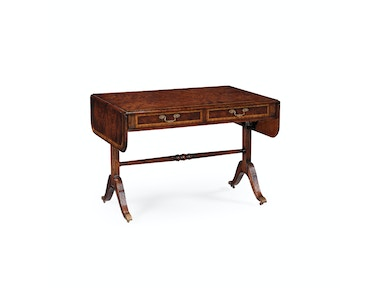 Jonathan Charles Regency Mahogany Folding Library Table 493170