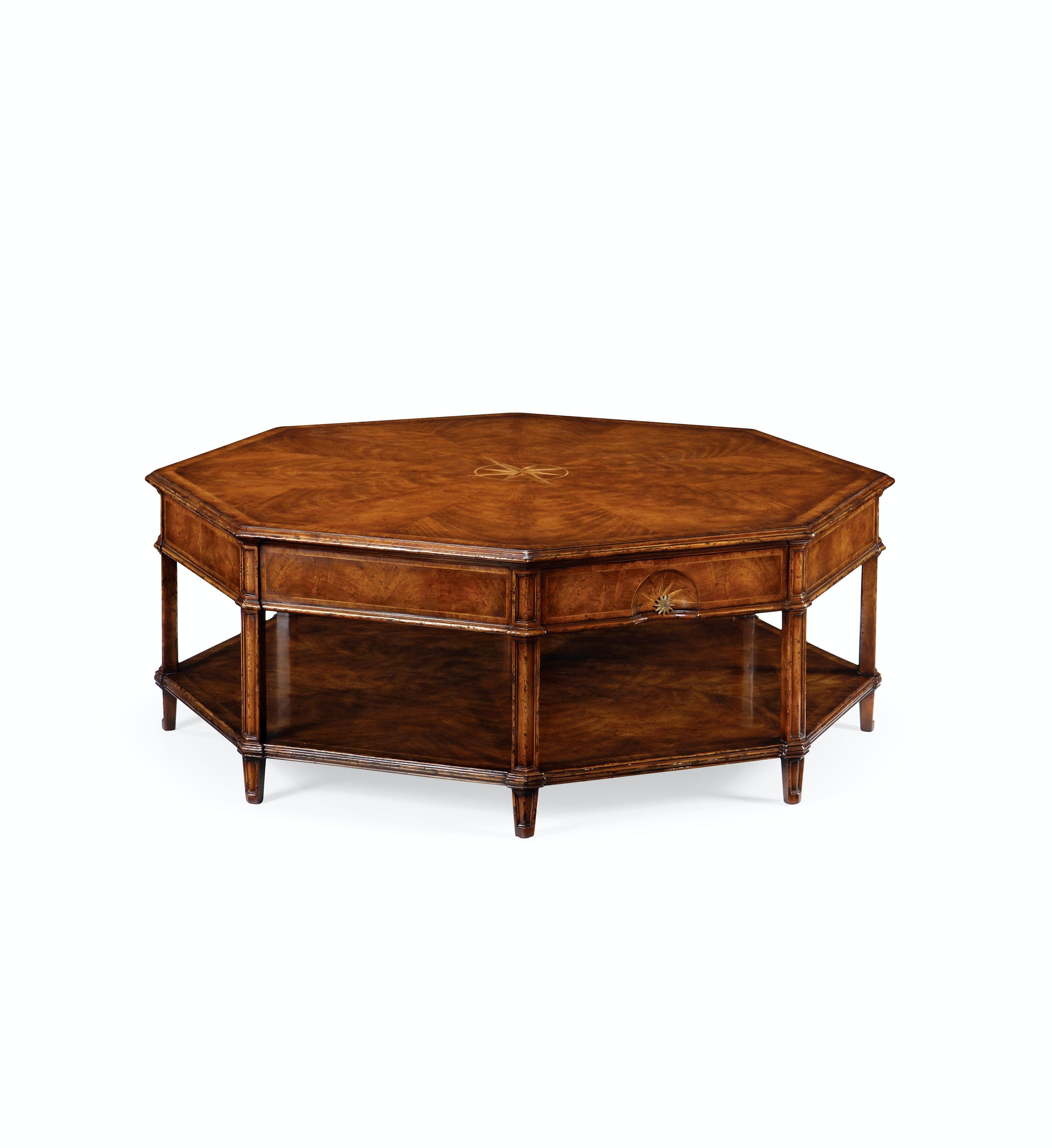 Jonathan Charles Starburst Octagonal Coffee Table 493237 CWM