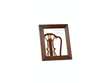 "Jonathan Charles Walnut Ribbed Picture Frame (8""X10"") 493297"