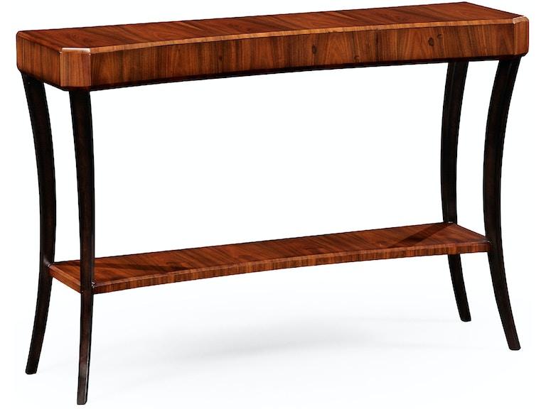 Jonathan Charles Art Deco Console Table Satin 494086 Sas