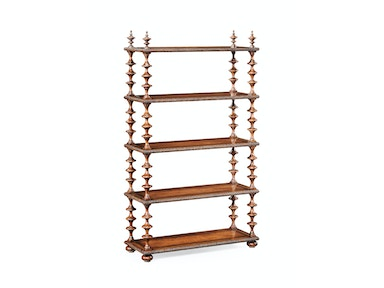 Jonathan Charles Gadrooned Five-Tier Etagere 494166