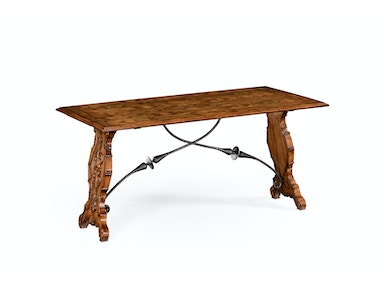 Jonathan Charles Portuguese Hunt Style Dining Table