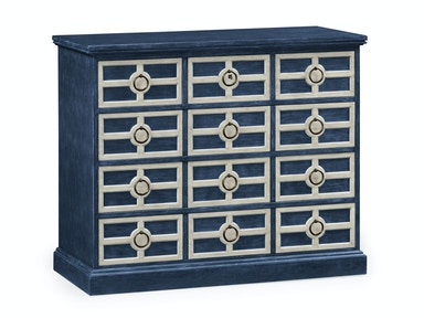 Jonathan Charles Midmoor Chest Of Drawers 530130-BLU