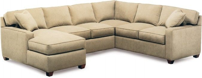 Precedent Furniture Living Room Ethan Sectional Series 2145 Sectional   Lenoir  Empire Furniture   Johnson City, TN