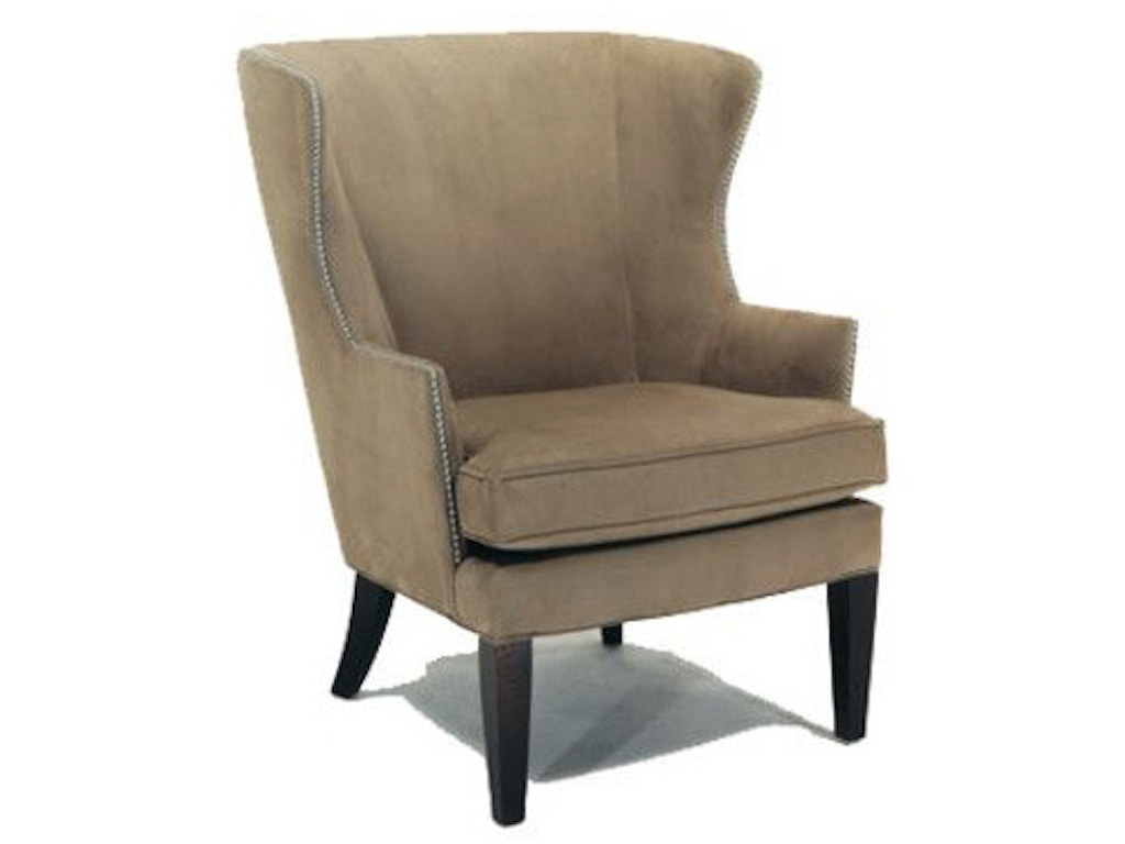 Precedent Furniture Living Room Upholstered Wing Chair 2509 C1 Mcelherans Fine Furniture