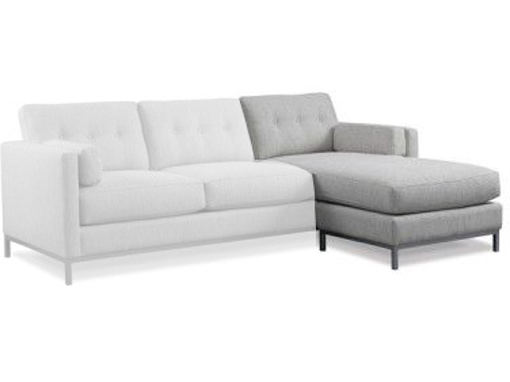 Precedent furniture living room preston sofa chaise 3154 for Chaise edmonton