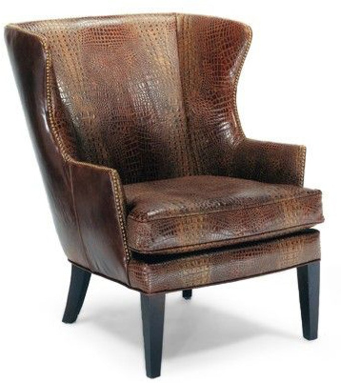 Leather Furniture Stores In Birmingham Al: Precedent Furniture Living Room Leather Wing Chair L2509