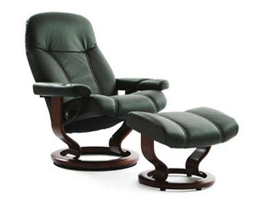 Stressless by Ekornes Stressless® Consul Large Classic Base Stressless Consul Large Classic Base
