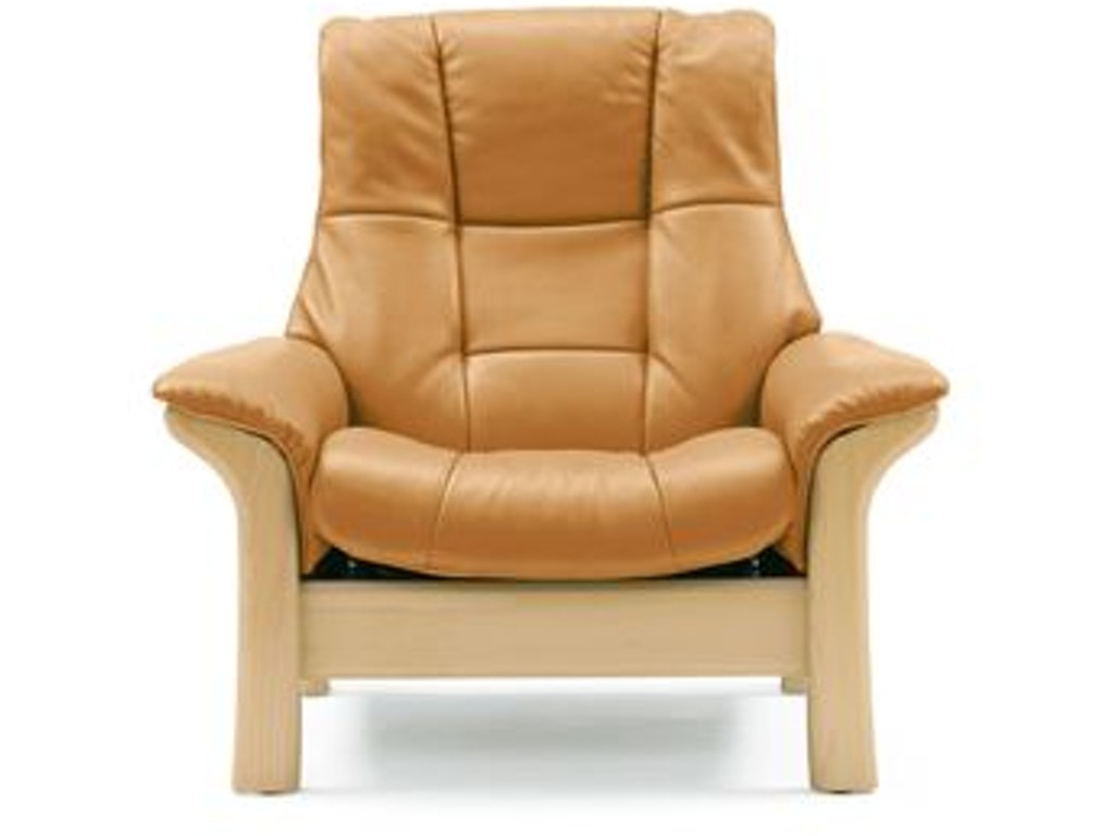 Stressless By Ekornes Stressless Buckingham Highback 1 Seater Large
