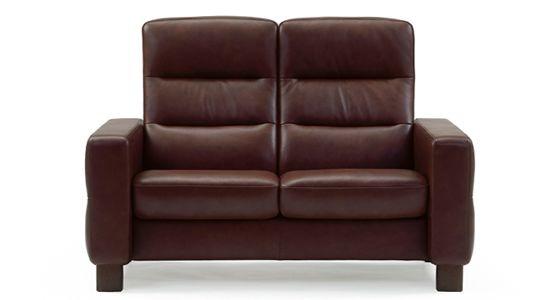 stressless by ekornes living room stressless u00ae wave highback 2 seater medium 1125020