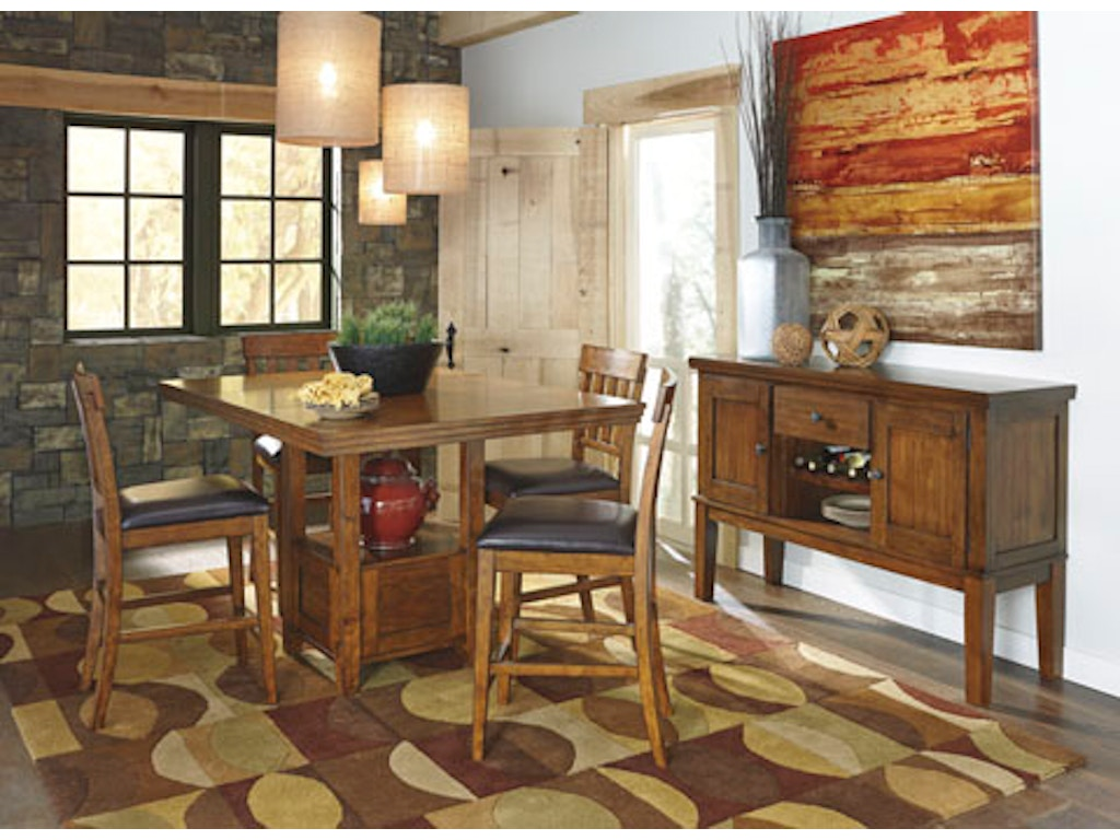 Hansen 39 S Exclusives Dining Room Rect Drm Counter Ext Table 620104143 Hansens Furniture
