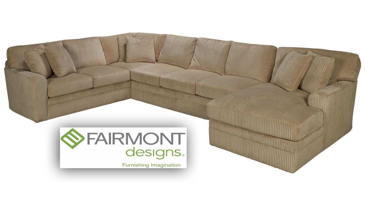 Fairmont Designs Living Room Palms Sectional D3698 SECT