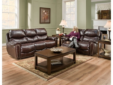 Franklin Double Reclining Sofa 41542