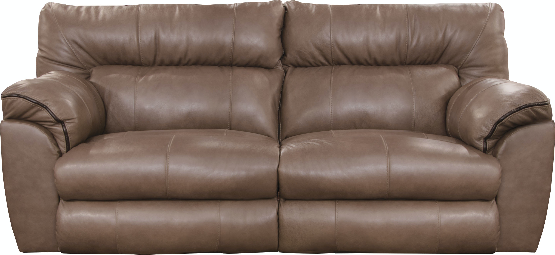 Catnapper Furniture Living Room Power Lay Flat Reclining Sofa  ~ Lay Flat Reclining Sofa