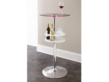 Steve Silver Crystal Bar Table CR350CEB