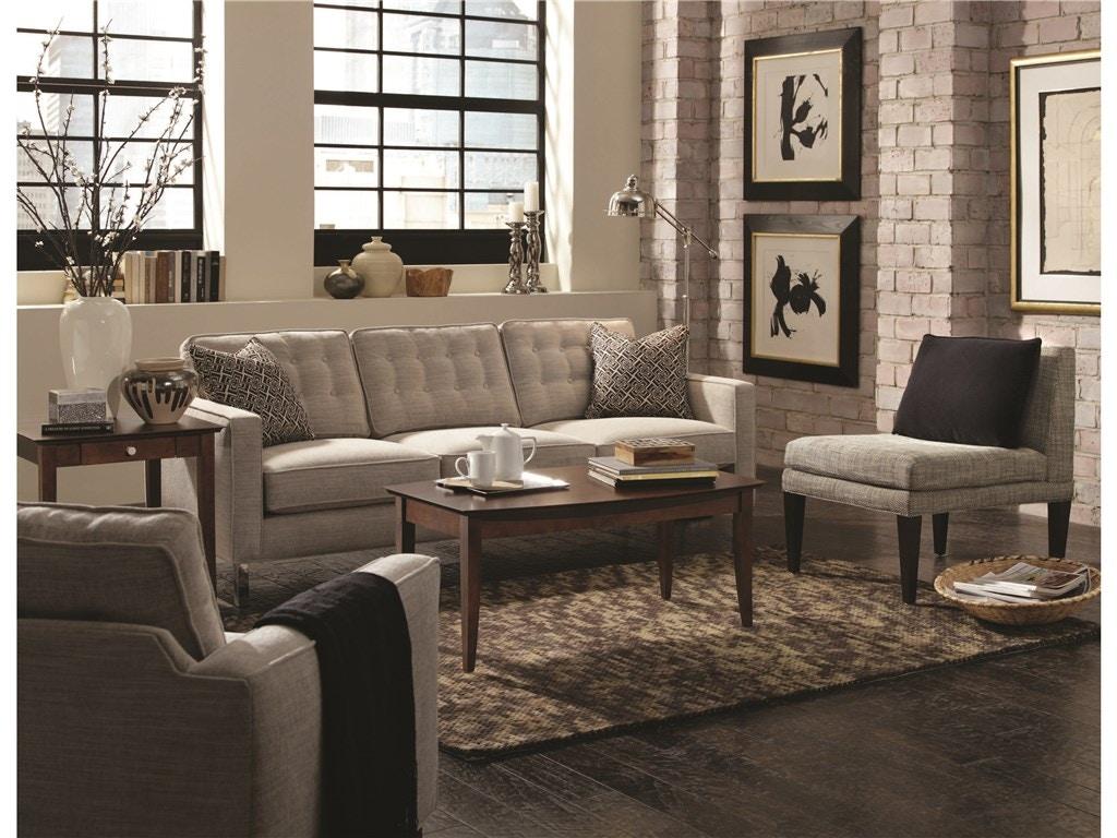 Rowe living room abbott sofa wood leg n120 002 norwood for The living room 002