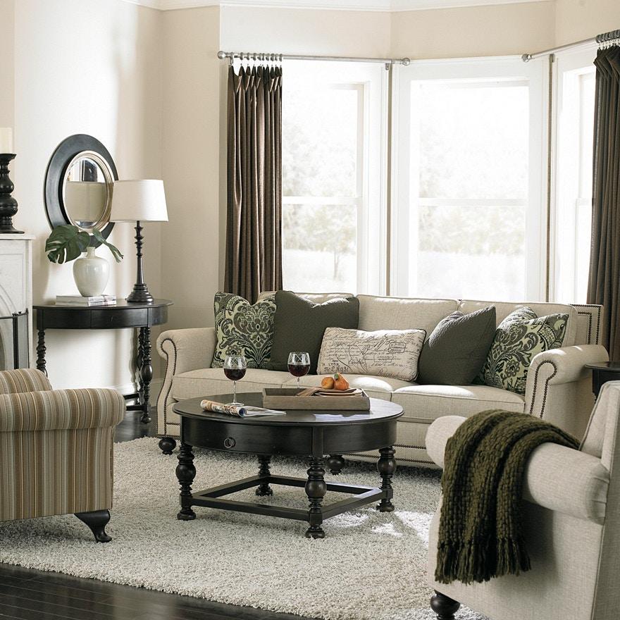 Bernhardt Living Room Sofa B6717 Hamilton Sofa & Leather Gallery