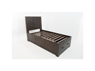 Jofran Jackson Lodge Twin Storage Panel Bed  G68290