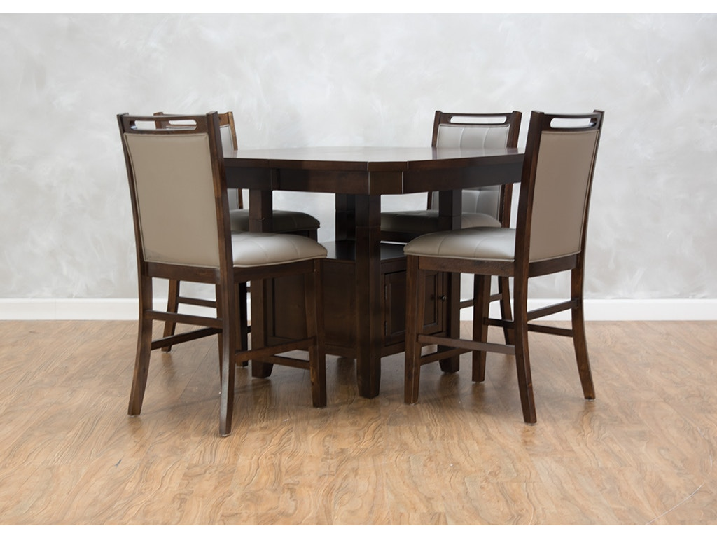 First Avenue Dining Room Chester Main High/Low Dining Table G68299 ...