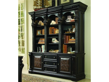 Hooker Furniture Telluride Bookcase Hutch with Storage Base  G66496