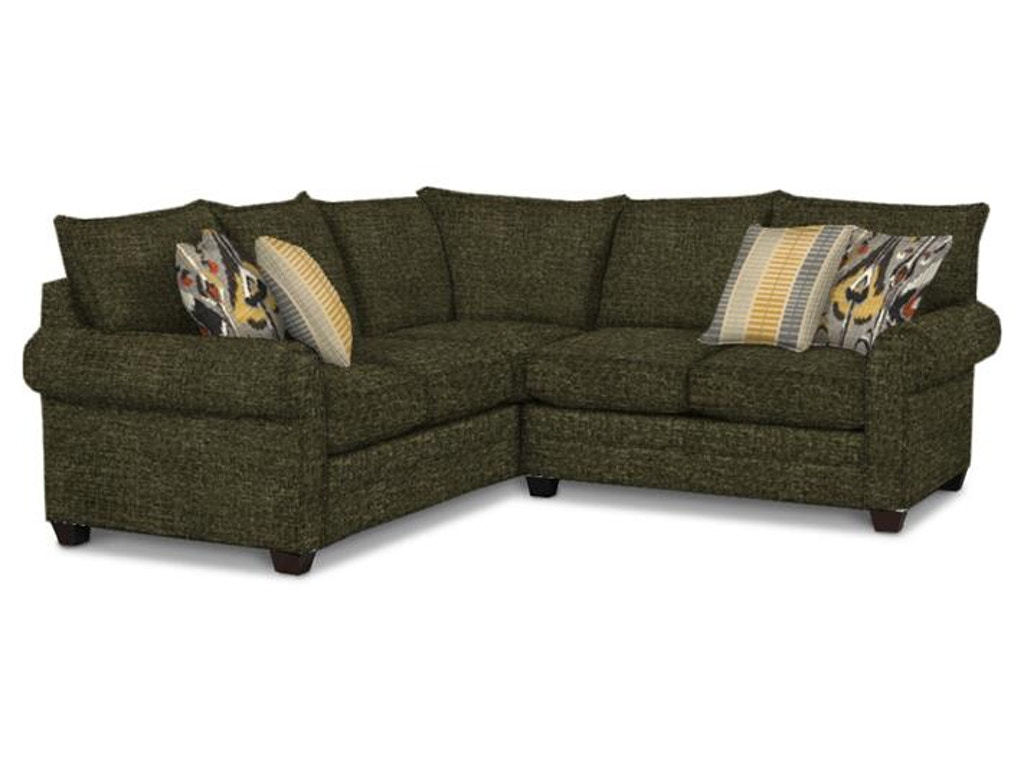 Living Room Furniture Ct Bassett Living Room Alex Ii 2 Piece Sectional G65798 Kittles