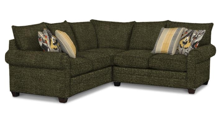 Bassett Alex II 2 Piece Sectional G65798  sc 1 st  Kittleu0027s Furniture : basset sectional - Sectionals, Sofas & Couches
