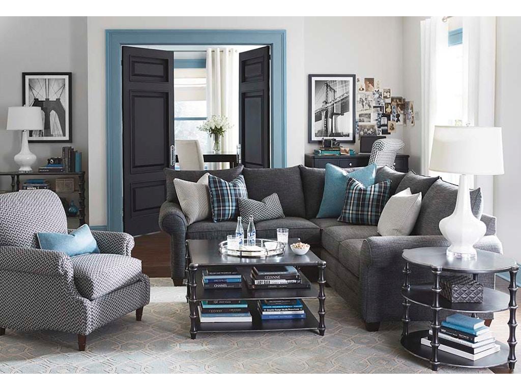 Bassett Living Room Alex II 2 Piece Sectional G65798 - Kittle\'s ...