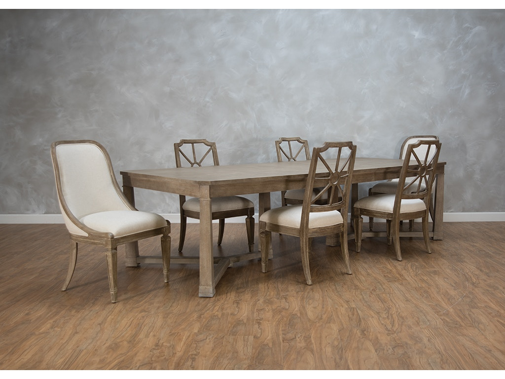 Stanley Furniture Dining Room Wthersfield Estate Dining Table ...