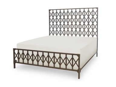 Legacy Classic Furniture Metailworks King Metal Bed 533594