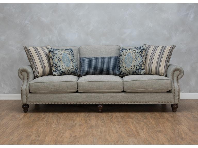 Craftmaster Living Room Tolliver Sofa 552955 - Kittle\'s Furniture ...