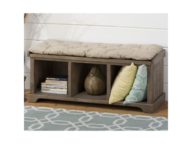 Jofran Slater Mill Storage Bench 517286