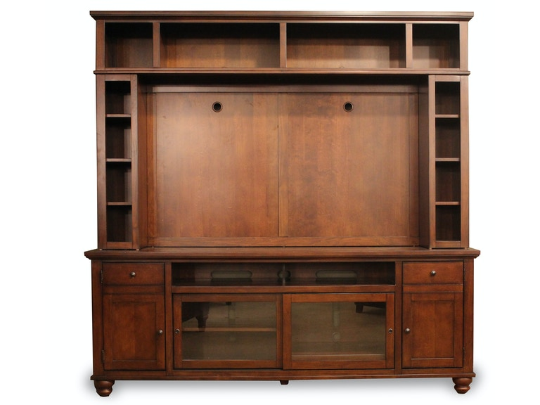 "aspenhome Cambridge 84"" Console with Hutch G64984"