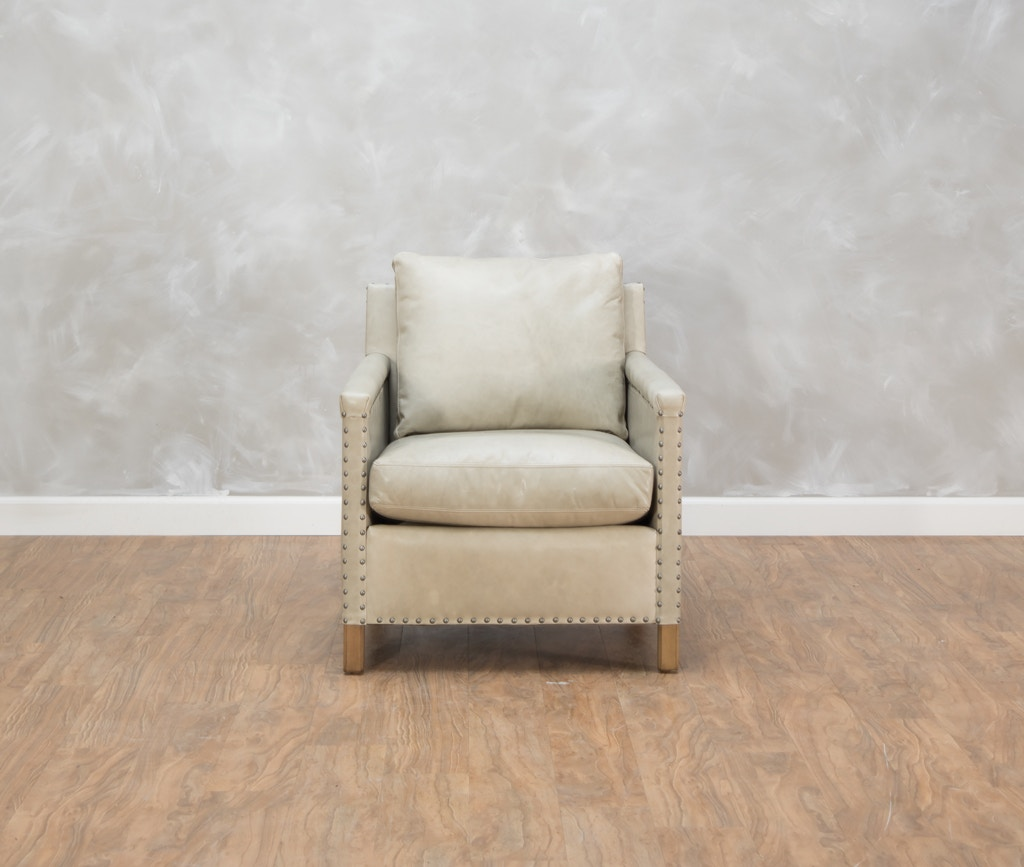 544345. Manchester Leather Chair
