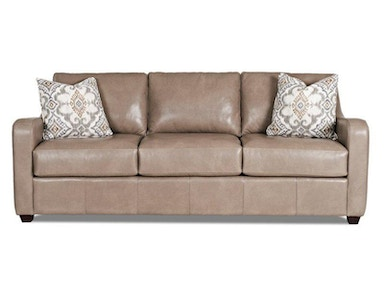 Klaussner Greer Leather Sofa 539092
