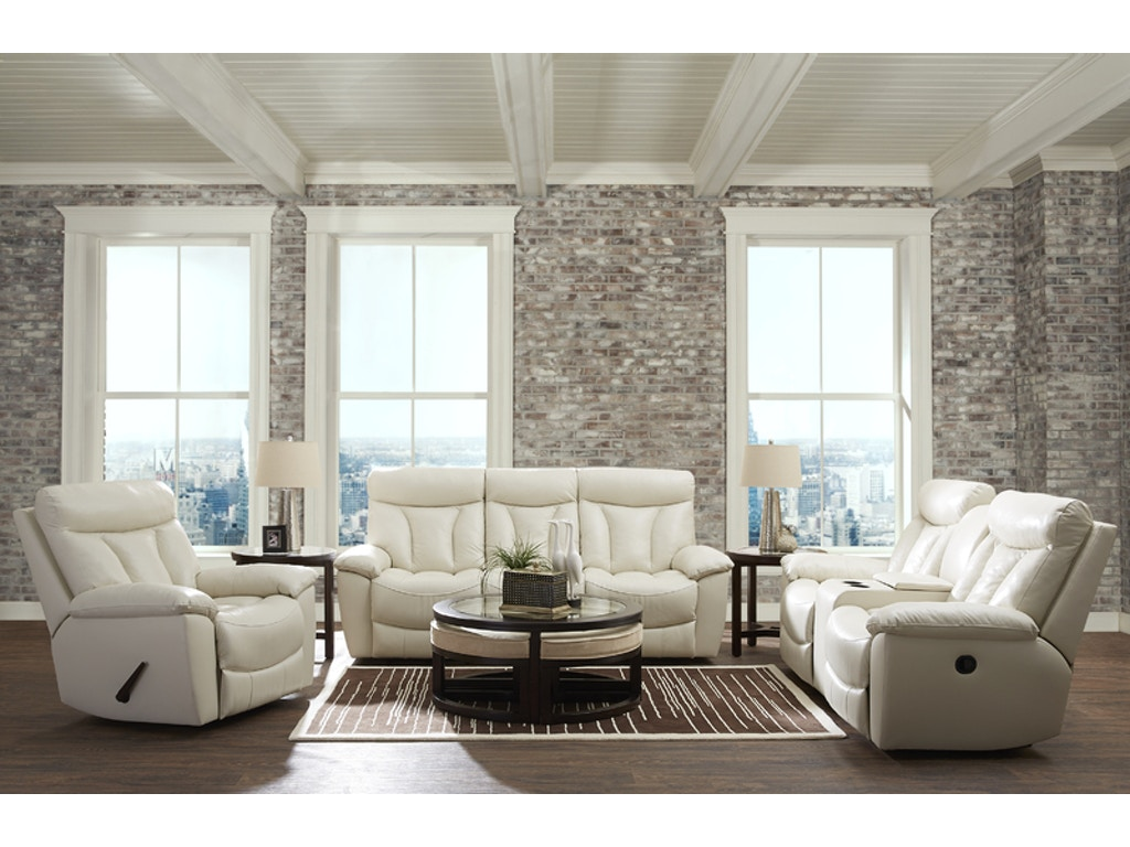 Klaussner living room deluxe reclining sofa 517431 for Klaus k living room brunssi