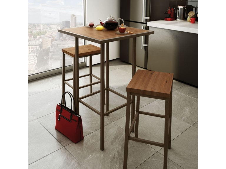 Amisco Bradley Non Swivel Bar Height Stool 40038-30
