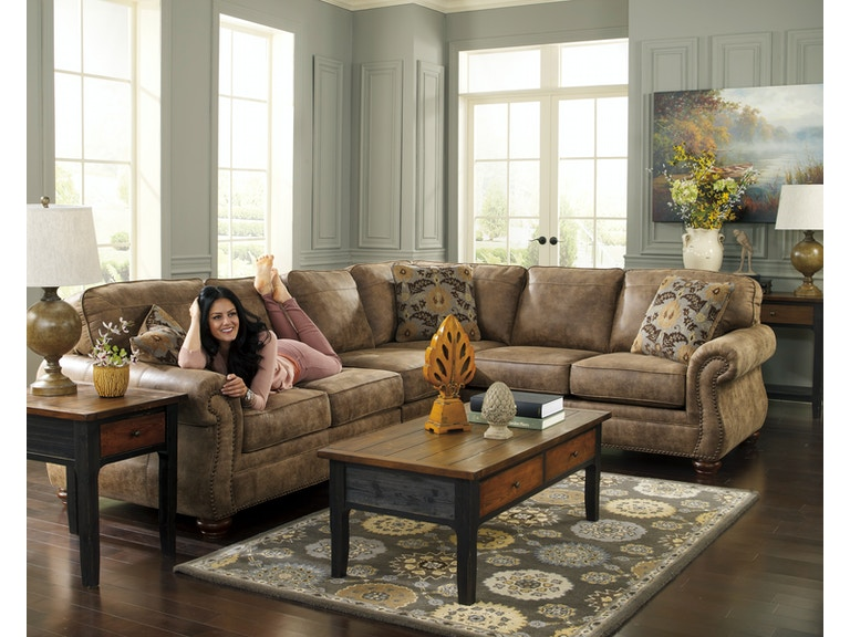 Signature Design By Ashley Living Room 31901 Larkinhurst 3 Piece Sectional Furniture Plus