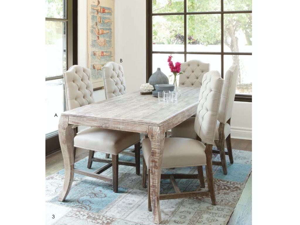 Classic Home Dining Room Aria Dining Table 82 51001573
