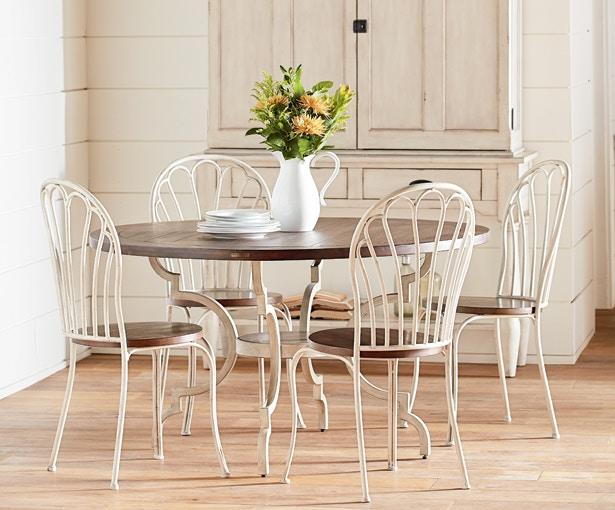 Magnolia Home Dining Room TABLE,BREAKFAST PEACOCK TABLE SETTING 3010101N  TABLE SETTING   Furniture Plus Inc.   Mesa, AZ