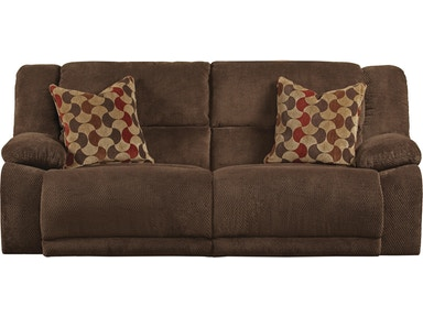 Jackson Furniture Hammond Reclining Sofa in Mocha 1441 2776-19