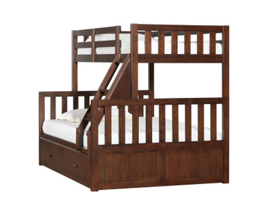 Simmons Bedroom Furniture Simmons Bedroom 3000 Twin Full Bunk Bed Goldsteins Furniture