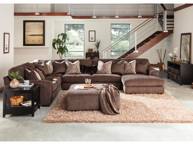 Catnapper Furniture sectional 3276 4 piece Sectional